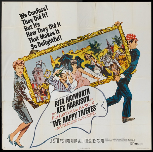 HAPPY THIEVES, THE (1962) 14486