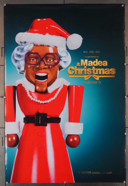 MADEA CHRISTMAS, A ( 2013 ) 29047 Lionsgate Original U.S. One-Sheet (27x40) Roilled  Very Fine Condition