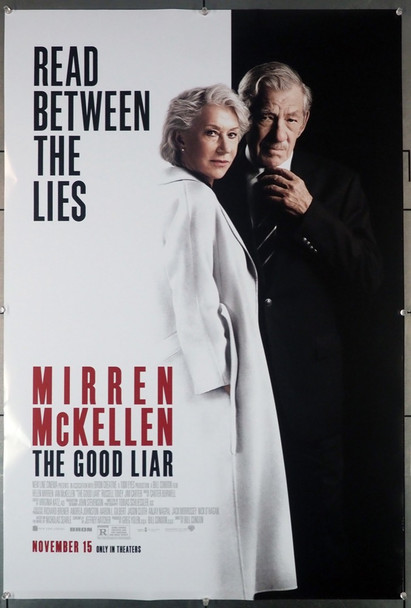 GOOD LIAR, THE (2019) 29005 Warner Brothers Original U.S. One-Sheet Poster (27x40) Rolled  Fine Plus Condition