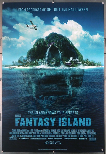 FANTASY ISLAND (2020) 28999 Columbia Pictures Original U.S. One-Sheet Poster (27x40) Rolled  Fine Plus Condition
