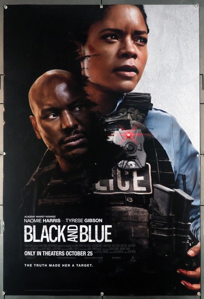 BLACK AND BLUE (2019) 28996 Screen Gems Original U.S. One-Sheet Poster (27x40) Rolled Never Folded  Fine Plus Condition