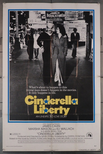 CINDERELLA LIBERTY (1974) 1208 Original U.S. One-Sheet Poster (27x41) Folded  Very Good Condition