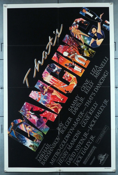 THAT'S DANCING! (1985) 1221   Original Movie Poster MGM Original U.S. One-Sheet Poster (27x41) Folded  Very Fine