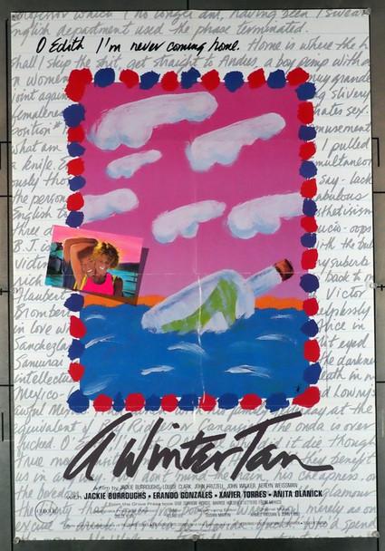 WINTER TAN, A (1987) 1638  Jackie Burroughs U.S. Movie Poster Original U.S. Poster 26.25 x 38.5 inch folded Poster