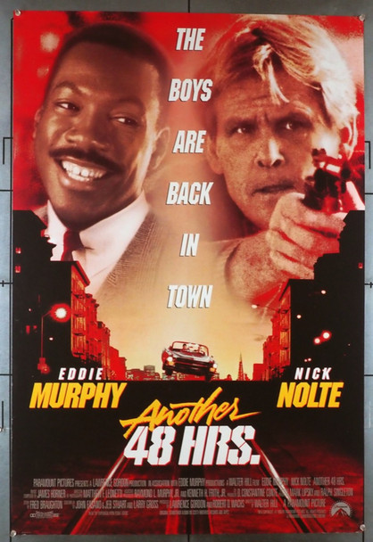ANOTHER 48 HRS. (1990) 3831   Eddie Murphy   Nick Nolte  Movie Poster Original U.S. One-Sheet Poster (27x41) Rolled  Fine Plus Condition
