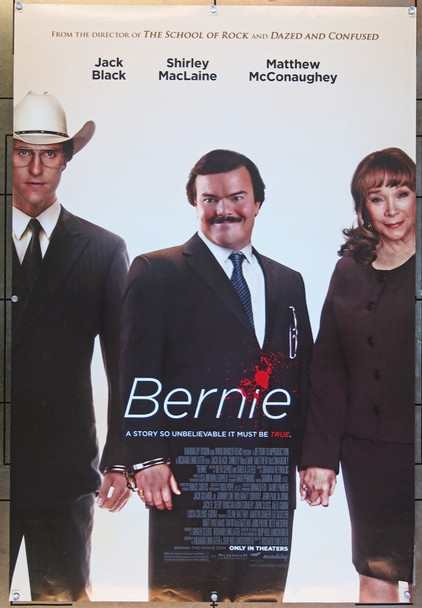 BERNIE (2011) 25908 Original U.S. One-Sheet Poster (27x40)  Rolled  Double-Sided  Very Fine Condtion