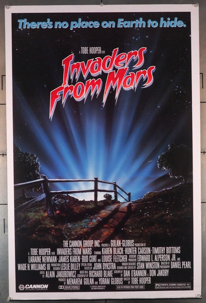 INVADERS FROM MARS (1986) 579 Original U.S. One-Sheet Poster (27x41) Rolled  Theater Used  Fine Plus Condition