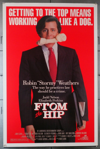 FROM THE HIP (1987) 603 Original U.S. One-Sheet Poster (27x41) Rolled  Theater Used  Fine Condition