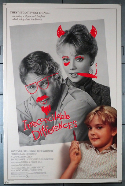 IRRECONCILABLE DIFFERENCES (1984) 580 Original U.S. One-Sheet Poster (27x41) Rolled  Fine Plus Condition