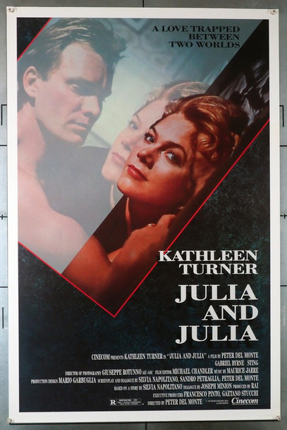 JULIA AND JULIA (1988) 593 Original U.S. One-Sheet Poster (27x41) Rolled  Very Fine Condition