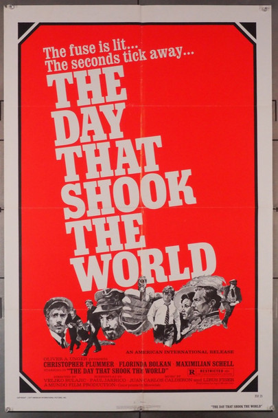 DAY THAT SHOOK THE WORLD, THE (1977) 3760 American International U.S. One-Sheet Poster (27x41) Folded  Very Good Condition