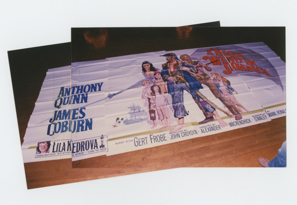 HIGH WIND IN JAMAICA, A (1965) 4470  U.S. EXTERIOR BILLBOARD POSTER  Art by Howard Terpning  Original U.S. 24-sheet Poster (9 feet by 20 feet)  Fine Plus Condition  Folded