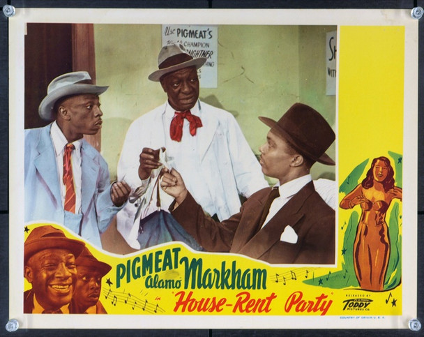 HOUSE-RENT PARTY (1946) 2651  Toddy  Pictures  Separate Cinema Lobby Card  Fine Original U.S. Lobby Card (11x14)  Fine Condition