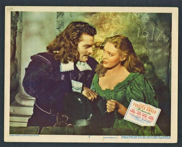 FOREVER AMBER (1947) 4438   Richard Greene   Linda Darnell  Lobby Card
