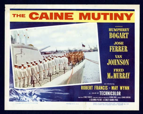 CAINE MUTINY, THE (1954) 4435 Original U.S. Scene Lobby Card (11x14)   Very Good Plus Condition