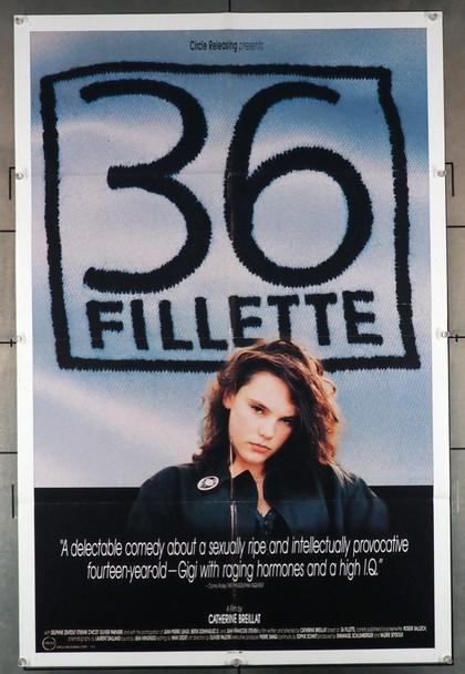 36 FILLETTE (1988) 1640   Delphine Zentour Movie Poster  Original U.S. One-Sheet Poster (27x41) Folded  Fine Plus Condition