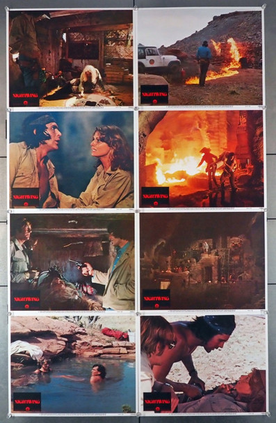 NIGHTWING (1979) 4440   Complete Lobby Card Set Original U.S. Lobby Card Set   Eight Individual Cards  Very Fine Condition