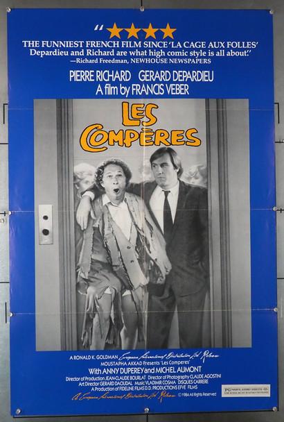 COMPERES, LES (1983) 4062   Original U.S. One-Sheet Poster Original U.S. One-Sheet Poster (27x41)  Folded  Fine Plus Condition