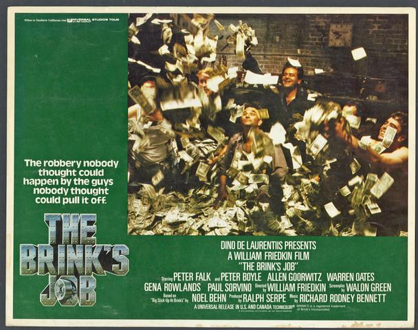 BRINK'S JOB, THE (1978) 9338   Peter Falk   Paul Sorvino   Lobby Card Original U.S. Scene Lobby Card (11x14)  Very Good, Theater-Used Condition