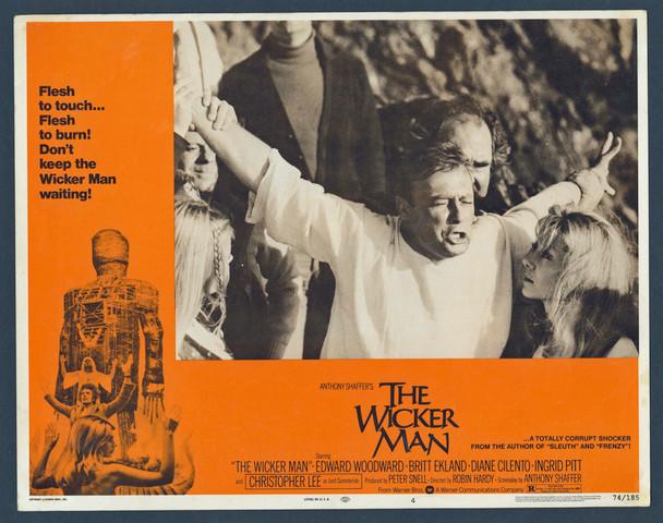 WICKER MAN, THE (1973) 29344  Original U.S. Scene Lobby Card  Rare!