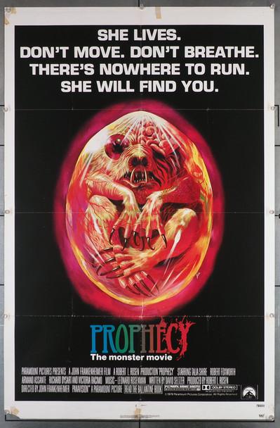 PROPHECY (1979) 16177 Original U.S. One-Sheet Poster (27x41) Folded  Fair Condition