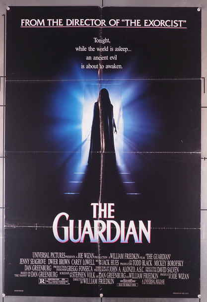 GUARDIAN, THE (1990) 10464    William Friedkin Movie Poster Original U.S. One-Sheet Poster (27x40)  Double Sided  Folded
