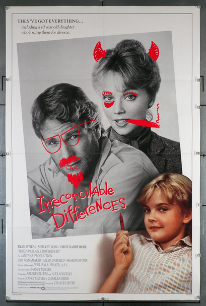 IRRECONCILABLE DIFFERENCES (1984) 29224 Original U.S. One-Sheet Poster (27x41) Rolled  Fine Plus Condition