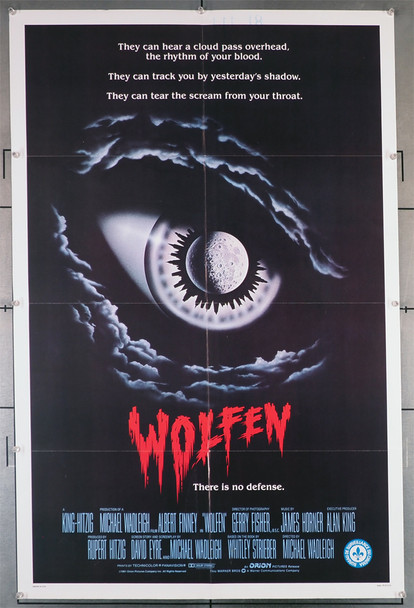 WOLFEN (1981) 29338  Horror Movie Poster   Original U.S. One-Sheet Poster (27x41). This poster is folded and in fine condition.