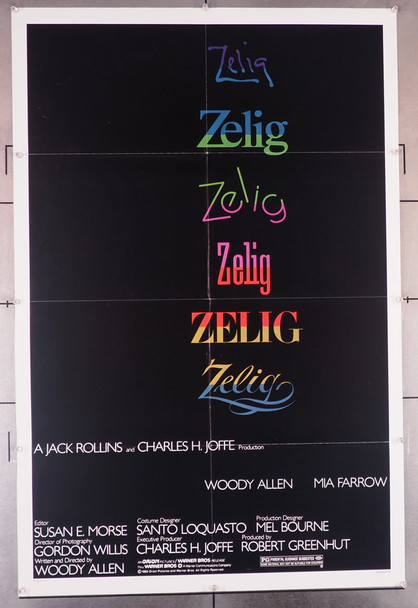 ZELIG (1983) 29342 An original Orion 1983 Release One Sheet Poster (27x41)