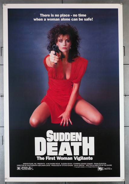 SUDDEN DEATH (1985) 440  Movie Poster  Rolled Original U.S. One-Sheet Poster (27x41) Rolled  Very Fine Condition