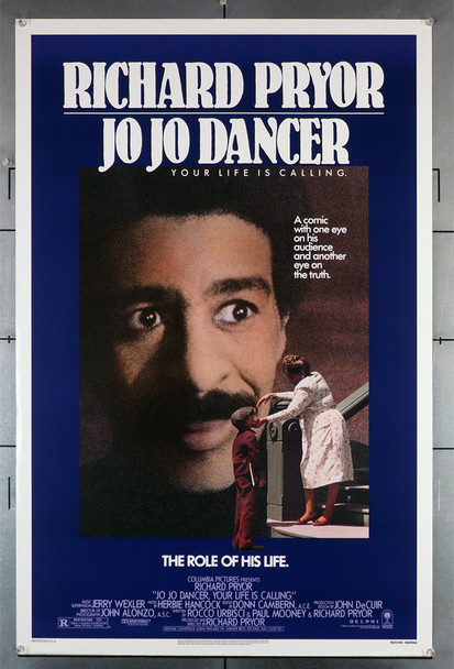 JO JO DANCER YOUR LIFE IS CALLING (1986) 536  Rolled Poster  Never Folded Original U.S. One-Sheet Poster (27x41) Rolled  Fine Plus