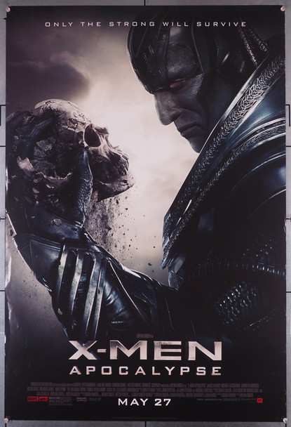 X-MEN: APOCALYPSE (2016) 26367 Original U.S. One-Sheet Poster (27x40)  Rolled  Double Sided  Fine Condition