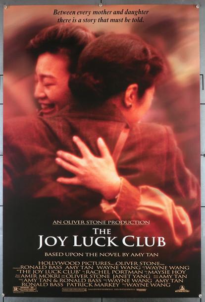 JOY LUCK CLUB (1993) 21996  TSAI CHIN   KIEU CHINH  LISA LU  WAYNE WANG  Movie Poster Original U.S. One-sheet Poster (27x40) Double Sided  Rolled  Fine Plus Condition