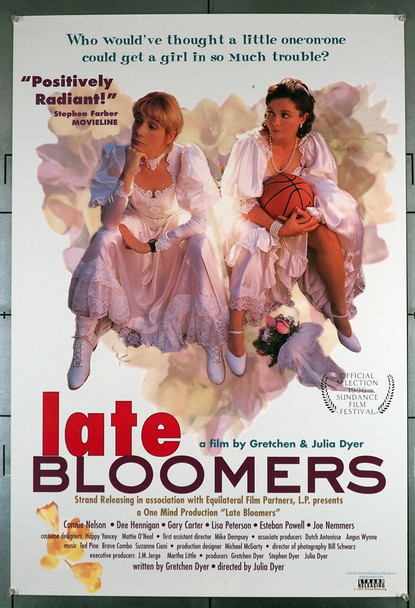 LATE BLOOMERS (1996) 21998  LGBTQ  Movie Poster   Julia Dyer Original U.S. One-Sheet Poster (27x41)  Rolled