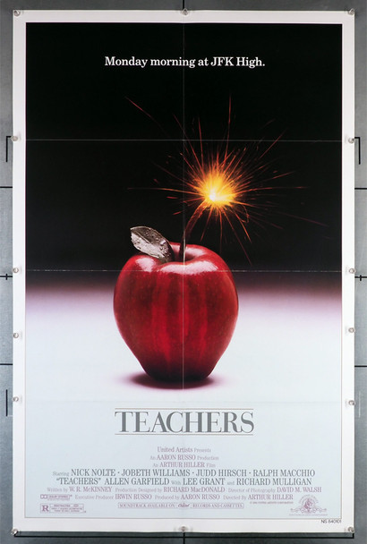 TEACHERS (1984) 29320  Movie Poster Original U.S. One-Sheet Poster (27x41) Folded  Fine Plus to Very Fine Condition
