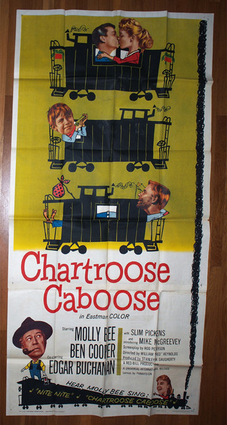 CHARTROOSE CABOOSE (1960) 13242