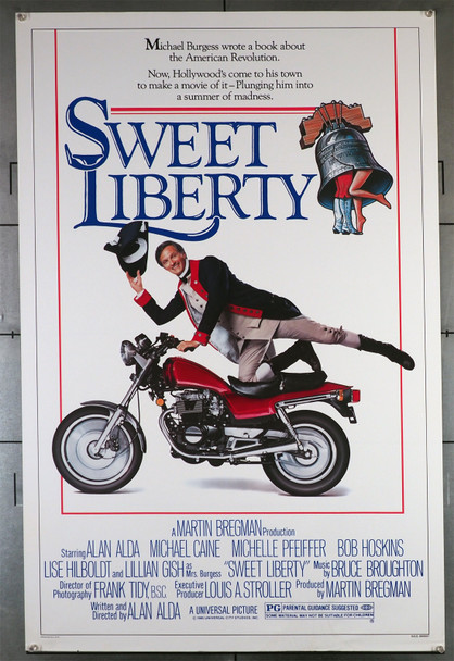 SWEET LIBERTY (1986) 422  Alan Alda Movie Poster Original U.S. One-Sheet Poster (27x41) Rolled Never Folded  Fine Plus Condition