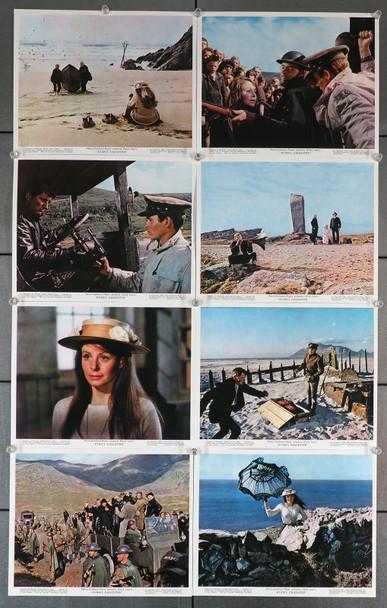 RYAN'S DAUGHTER (1970) 7124  Sixteen British Front-of-House Cards   David Lean  Robert Mitchum  Sarah Miles   John Mills   Trevor Howard British Front-of-House Set   16 8x10 Original Cards   Very Fine Condition