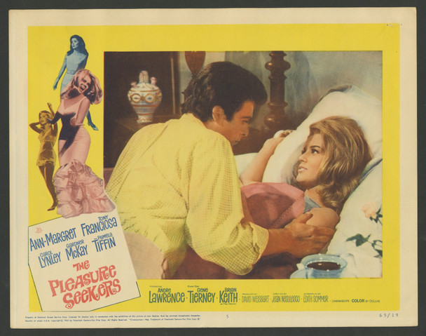 PLEASURE SEEKERS, THE (1965) 29398  Three Ann-Margret Scene Lobby Cards Original U.S. Scene Lobby Cards (11x14)  Three Individual Cards