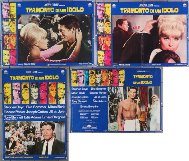 OSCAR, THE (1966) 29405  Italian Movie Posters  COMPLETE PHOTOBUSTA SET (10)  STEPHEN BOYD   ELKE SOMMER