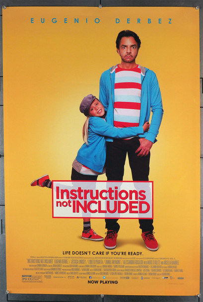 INSTRUCTIONS NOT INCLUDED (2013) 29410   Andres Vasquez  Loreta Peralta  Movie Poster Original U.S. One-Sheet Poster (27x40)  Rolled  Fine Plus Condition  Theater-Used