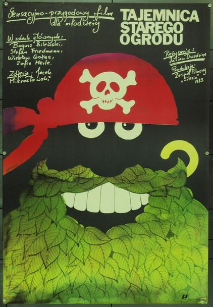 MYSTERY OF THE OLD GARDEN, THE (1984) 22241   Art by Edward Lutczyn Original Polish Poster (27x39).  Lutczyn Artwork.  Unfolded.  Very Fine.