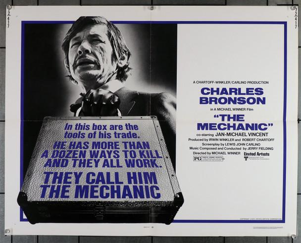 MECHANIC, THE (1972) 7540   Charles Bronson   Jan-Michael Vincent  Michael Winner
