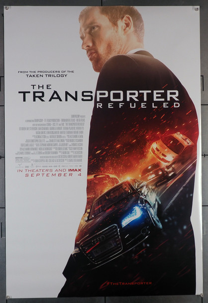 TRANSPORTER REFUELED, THE (2015) 29460  Movie Poster  Ed Skrein   Original U.S. One-Sheet Poster (27x40)  Double-Sided  Rolled  Fine Plus Condition