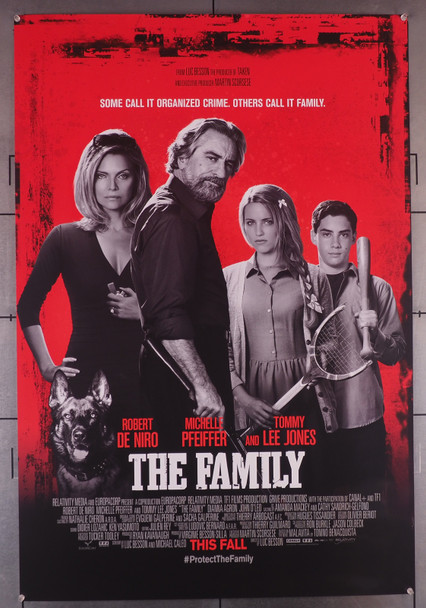 FAMILY, THE (2013) 29453 Original U.S. One-Sheet Poster (27x40)  Rolled  Double-Sided  Very Fine