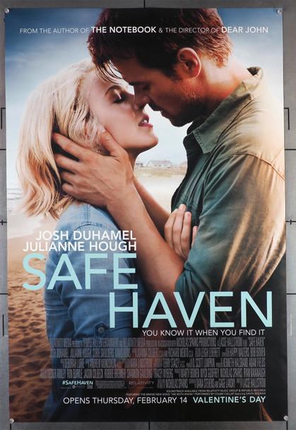 SAFE HAVEN (2013) 29459 Movie Poster  Julianne Hough   Josh Duhamel Original U.S. One-Sheet Poster (27x40)  Rolled  Double-Sided  Fine Plus Condition