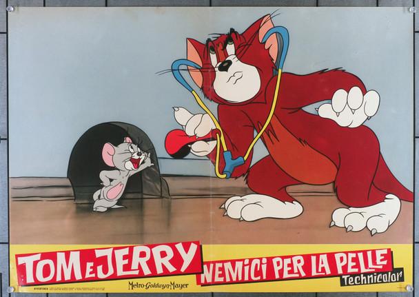 TOM AND JERRY (1960) 19428  Italian photobusta from the Italian cartoon anthology of 1960 Original Italian Photobusta (19x27)  Folded Once  Fine Plus condition