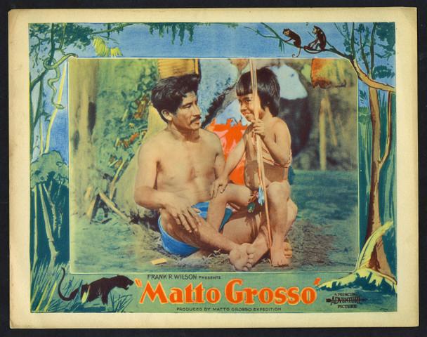 MATTO GROSSO (1933) 18868 Original U.S. Scene Lobby Card (11x14)  Very Good Plus to Fine Condition