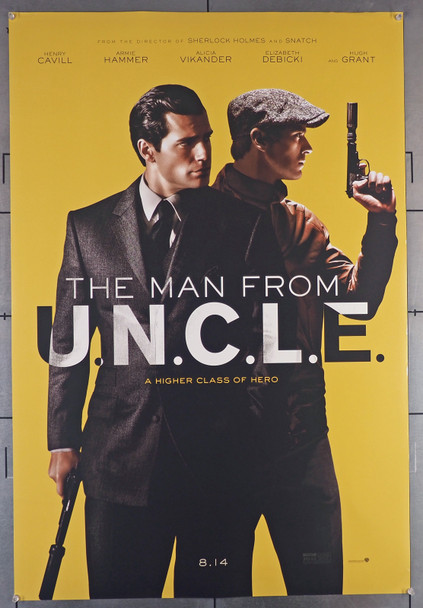 MAN FROM U.N.C.L.E., THE (2015) 29455  Movie Poster  (27x40)  Rolled  Fine Plus Original U.S. One-Sheet Poster (27x40) Rolled and Double-Sided  Fine Plus Condition