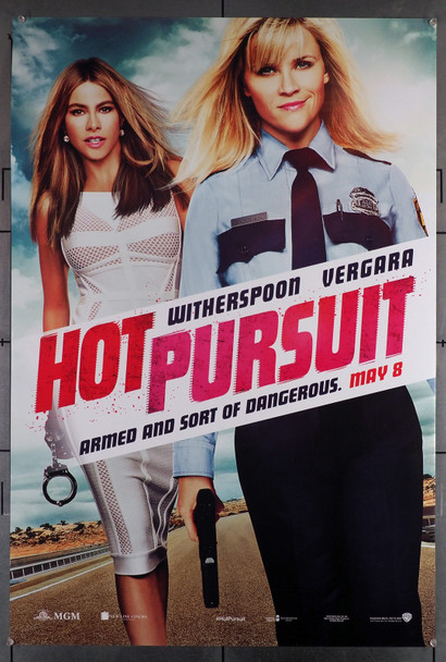 HOT PURSUIT (2015) 29512  Movie Poster  27x40  Rolled  Fine Plus Condition  Reese Witherspoon  Sofia Vergara Original U.S. One-Sheet Poster (27x40) Rolled  Fine Plus Condition
